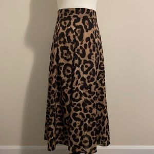 SHEIN Skirt and Shorts Size S & XS Leopard/Checker